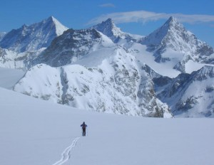 A mountain guide can help you experience this!