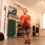 Single leg squat to start
