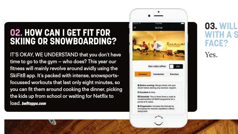 SkiFit in the Easyjet in flight magazine